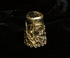 Vintage STERLING TAXCO THIMBLE by mytesoros on Etsy, $28.00
