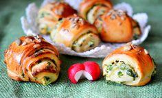 Medvehagymás hajtovány Sushi, Ethnic Recipes, Food, Essen, Meals, Yemek, Eten, Sushi Rolls