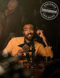 Donald Glover on charming the hell out of 'Solo: A Star Wars Story' Donald Glover, Childish Gambino, Lando Calrissian, Character Inspiration, Movie Stars, Handsome, Star Wars, Actors, My Love