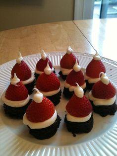 Lindsay's Cakes and Candies: Santa Hats