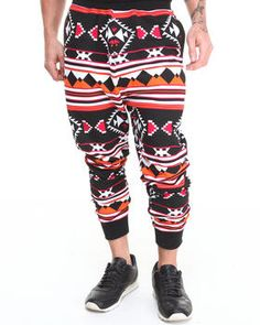 Love this Aztec French Terry Jogger Sweat Pants by Basic ... on DrJays. Take a look and get 20% off your next order!