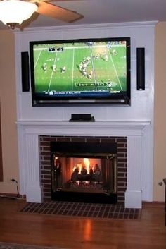 Similar Ideas More Information Tags Built In Electric Fireplace Tv Over