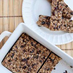 No Bake breakfast Granola Bars