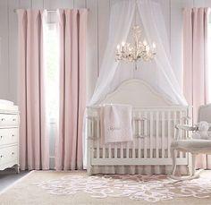 sweet princess themed nursery room