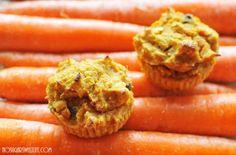 {Carrot Cake Muffins} - no sugar added | No Sugar Sweet Life