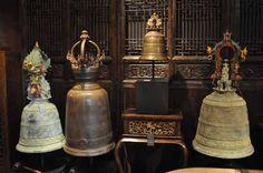 Burmese Temple Bell, Bronze, Burma, c.1900