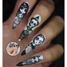 """✨@leximartone  ____________________________________________  #nails #nail #beauty #pretty #girl #girls #stylish #sparkles #styles #gliter #nailart #art #opi  #essie #unhas #preto #branco #rosa #love #shiny #polish #nailpolish #nailswag #anastasiabeverlyhills #vegas_nay #wakeupandmakeup #hudabeauty #acrylic #notpolish #instanails"" Photo taken by @thenaillife_ on Instagram, pinned via the InstaPin iOS App! http://www.instapinapp.com (09/28/2015)"