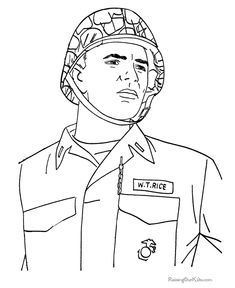 American Navy officer - Veterans Day Coloring page | U.S. Navy ...