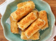 Cauliflower Croquettes A great snack for any party or weekend brunch.