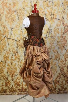 These Bustle Skirts will fit a lower waist measurement of about up to inches Because of the unique way that we do the waistbands where they are flat in the Steampunk Belle, Damsel In This Dress, Bustle Skirt, Corset, Two Piece Skirt Set, Costumes, Fashion Outfits, Classic, Pearl