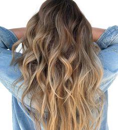 Soft Bronde Balayage for Long Fine Hair