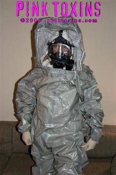 Gas Mask Girl, Hazmat Suit, Latex Babe, Gas Masks, Respirator Mask, Military, Suits, Pink, Mascaras