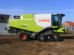 Find some pictures about class combine harvester…