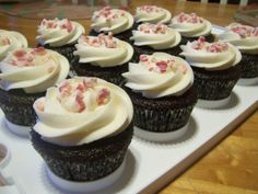 chocolate fudge cake with peppermint buttercream