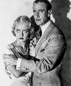 Bette Davis and H. Warner in The Menace Golden Age Of Hollywood, Classic Hollywood, In Hollywood, George Brent, Bette Davis Eyes, Film Story, Betty Davis, Film Genres, Film Institute