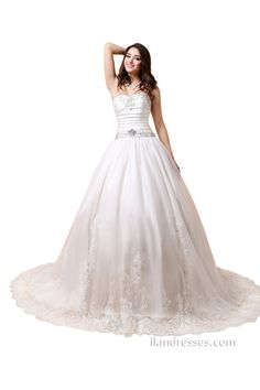 http://www.ikmdresses.com/Sweetheart-Ball-Gown-Chapel-Train-Beaded-Bridal-Wedding-Dresses-p88031