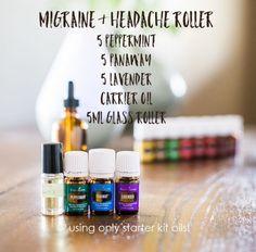 Migraine roller