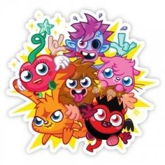 Giant peel and stick #moshimonsters #wall #decals