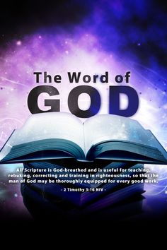 The word of God!