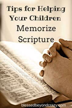 Awesome post! #blessedbeyondcrazy #parenting #scripture