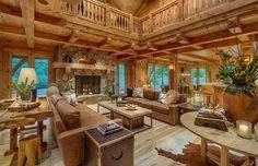 Catherine Macfee Interior Design + Olson-Olson Architects, Bruce Olson Construction, Martis Camp Homesite 19