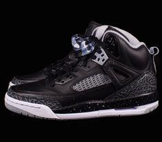 brand new 55549 9cd5c Jordan Spizike GS–Black-Cool Grey-Wolf Grey Sneakers Nike, Nike Schoenen