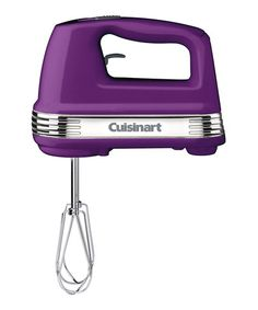 Take a look at this Cuisinart Dark Purple Power Advantage Five-Speed Hand Mixer by Kitchen Brights Collection on #zulily today!