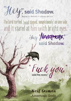 Quote from American Gods by Neil Gaiman