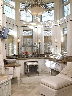 Traditional Bathroom Design, Pictures, Remodel, Decor and Ideas - page 45 Dream Bathrooms, Dream Rooms, Beautiful Bathrooms, Master Bathrooms, Luxury Bathrooms, Glamorous Bathroom, Beautiful Closets, Master Baths, Home Design