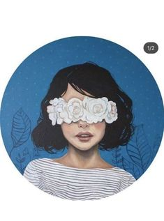 Art Anime, Anime Art Girl, Cartoon Art Styles, Cartoon Icons, Girly Drawings, Art Drawings, Vinyl Record Art, Illustration Art, Illustrations