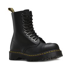 0cd38d6d078 Dr Martens 8761 BXB Mens and Womens 10-Eyelet Boots in Black