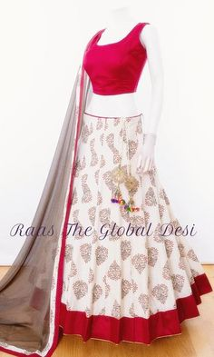 Half Saree Designs, Choli Designs, Lehenga Designs, Indian Bridal Outfits, Indian Designer Outfits, Pakistani Outfits, Indian Gowns Dresses, Indian Clothes Online, Lehnga Dress