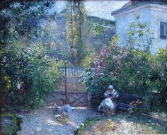 Camille Pissarro, Maison Rouge (1877) - Google Search