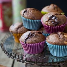 Doing a spot of baking this weekend? Give these bad boys a go! Delicious triple chocolate muffins! :) Recipe on the blog...