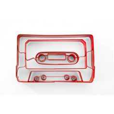 Cassette Tape Cookie Cutter