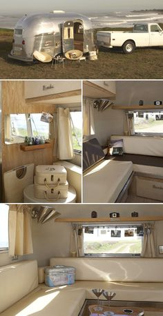 Airstream done right vintage trailer camper glamping
