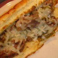 Slow Cooker Philly-style Cheese Steak Sandwiches Recipe