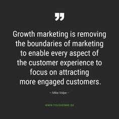 Former HubSpot CMO Mike Volpe on Growth Marketing Newsreader, Marketing, Customer Experience, To Focus, How To Remove
