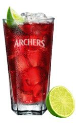 Its cheesy we know! The Woo Woo Cocktail. 35 ml ARCHERS - Peach 35 mlSMIRNOFF - Nordic Berries top up with Chilled Cranberry Juice 1 Wedge of Lime Fill a Highball glass with ice. Pour in 35ml of Archers Peach Schnapps and 35ml of Smirnoff Vodka. Top up with chilled cranberry juice. Add a dash of lime and finish with a wedge.
