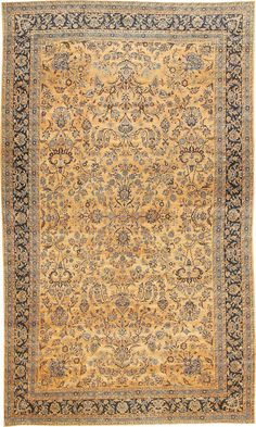 Antique Kerman Persian Rug 42101 Main Image - By Nazmiyal  http://nazmiyalantiquerugs.com/antique-rugs/persian-rugs/antique-kerman-persian-rug-42101/