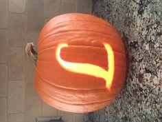 L monogram pumpkin