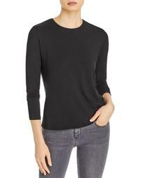 Long-Sleeve French Terry Tee