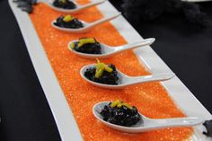 Insatiable Black Rice Pudding with Mango Black Rice Pudding, Plastic Cutting Board, Mango, Good Food, Treats, Cooking, Halloween, Fun, Manga