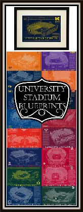 College Football Stadium Blueprint These prints celebrate your favorite college football stadiums   Sports Fans   University Artwork   Home and Dorm Decor   Style   #ad Christmas Gifts    Gifts For him   Office Art