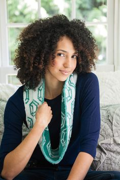 Today's throwback pattern is a knitting pattern for the Jewel Be So Cozy Circle Scarf! Don your neck with a bit of bling when you make this scarf that's sure to turn heads. Try your hand at double knitting and finish your scarf with an i-cord that will make it look both professional, and expensive. Jewel love this pattern! PS: Did you know that I send out links to my throwback patterns in my Newsletter each week? Make sure to sign-up so you never miss out! #JewelBeSoCozy #knitpicks I Cord, Circle Scarf, Knit Picks, Yarn Shop, Double Knitting, Yarns, Crochet Hooks, Ps, Knitting Patterns