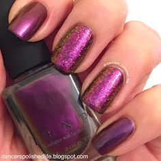 Dancer's Polished Life: ILNP Amazing Multichrome and Flakies Goodness (Und...