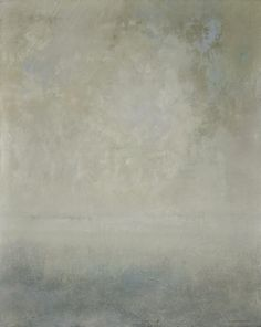 variations of white  oil on canvas   48'' X 60''