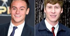"""Olympic diver Tom Daley, 19, is dating Oscar-winning screening writer Dustin Lance Black, 39, and """"doesn't care"""" about the age gap, a source says"""