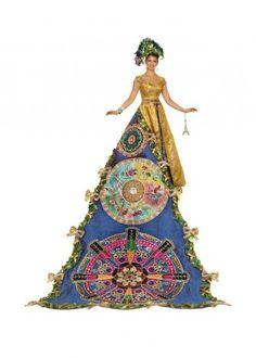 Hattie Elizabeth Brazelton, Duchess of Opulent Embellishments