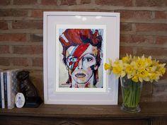 Throwing back to an oldie but goodie!! ⚡Love him!  #DavidBowie #ZiggyStardust #Starman #SpidersOnMars #SpringTime #ArtPrint #ContemporaryArt #FriYay #GoodMorning #Daffodils Ziggy Stardust, Daffodils, Spring Time, Love Him, Contemporary Art, Art Prints, Portrait, Artist, Painting